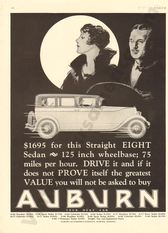 1927 Auburn Advertisement #11