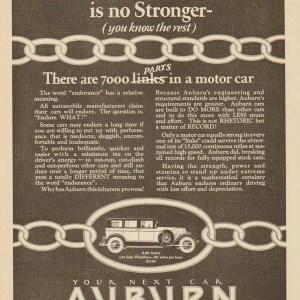 1927 Auburn Advertisement #17