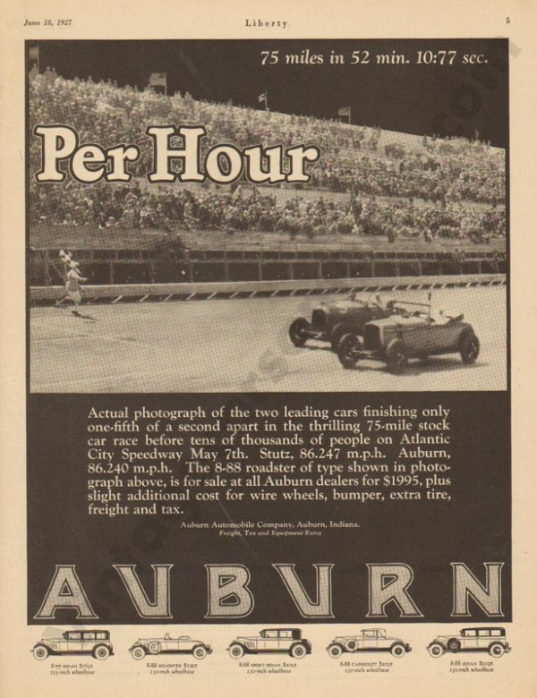 1927 Auburn Advertisement #20