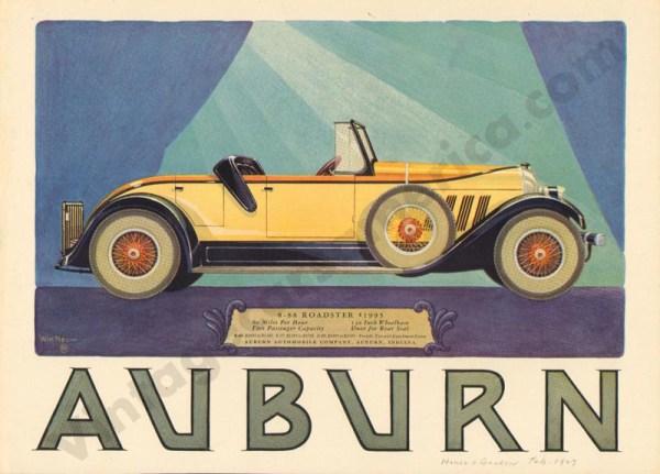 1927 Auburn Advertisement #23