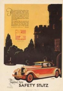 1927 Stutz Advertisement #3