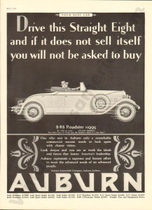 1927 Auburn Advertisement #2