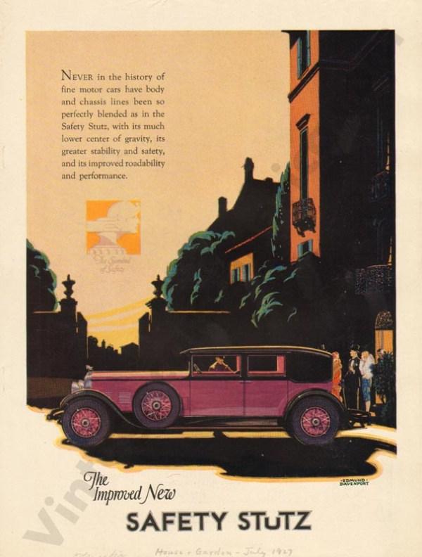 1927 Stutz Advertisement #4