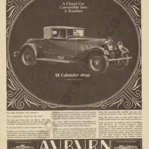 1928 Auburn Advertisement #12