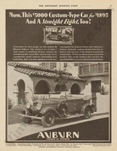 1928 Auburn Advertisement #13