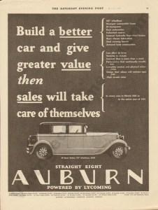 1928 Auburn Advertisement #2