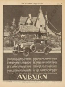 1928 Auburn Advertisement #20