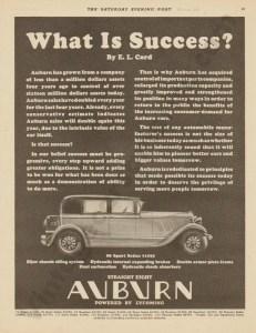 1928 Auburn Advertisement #21