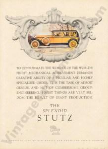 1928 Stutz Advertisement #2