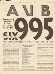 1928 Auburn Advertisement #5