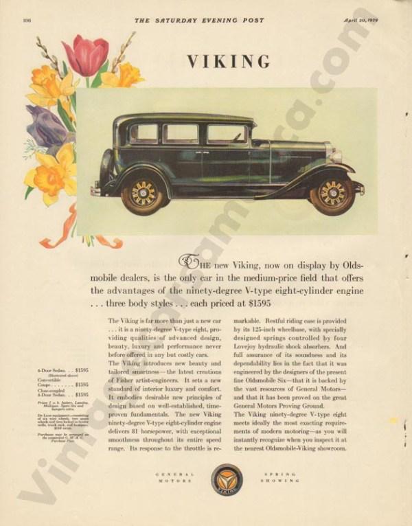 4/20/1929 Viking Advertisement
