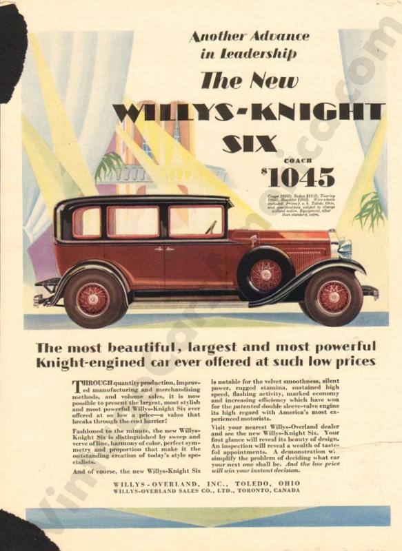 1929 Overland Advertisement #4