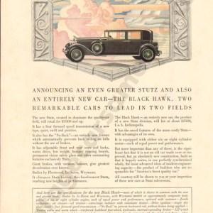 1929 Stutz Advertisement #1
