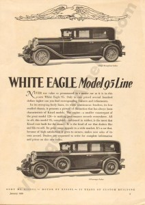 1929 White Eagle Advertisement #1