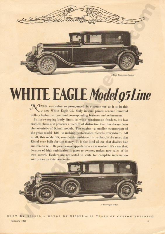 1929 White Eagle Advertisement #1