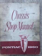 1960 Pontiac Shop Manual