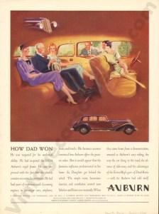 1934 Auburn Advertisement #2