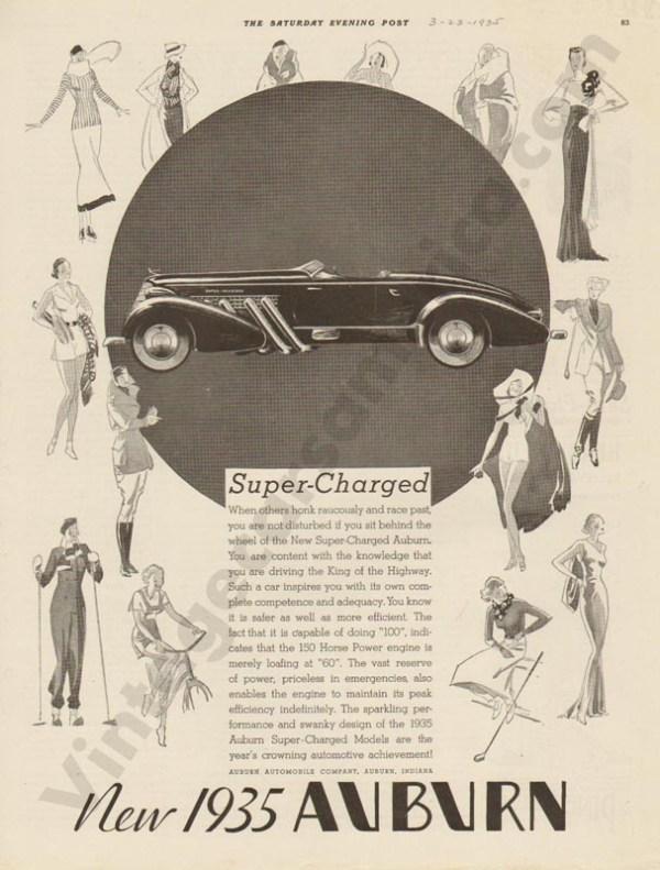 3/23/1935 Auburn Advertisement