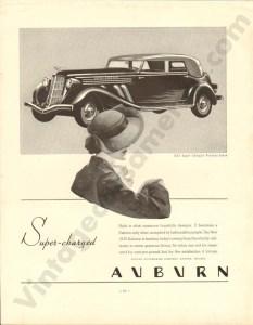 1935 Auburn Advertisement #1