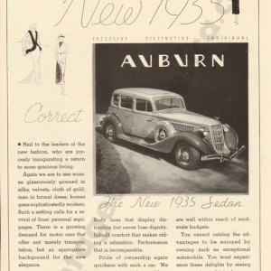 1935 Auburn Advertisement #3