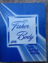 1969 Fisher Body Shop Manual