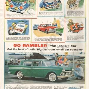 1959 Rambler Advertisement #1