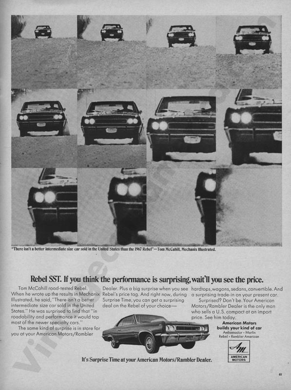 1967 American Motors Advertisement #3