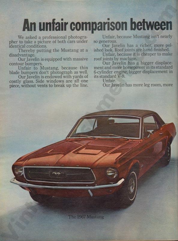 1968 American Motors Advertisement #2