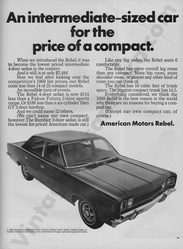 1969 American Motors Advertisement #1