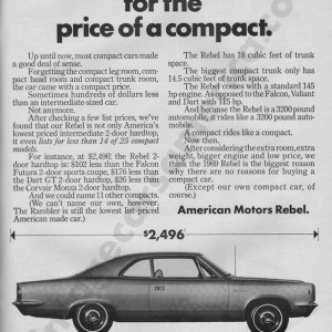 1969 American Motors Advertisement #2