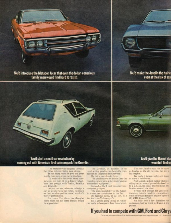 1971 American Motors Advertisement #6