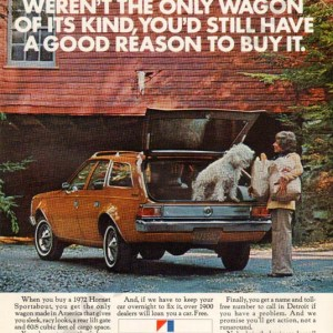1972 American Motors Advertisement #6