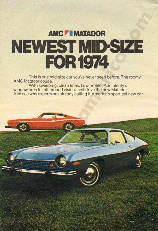 1974 American Motors Advertisement #2