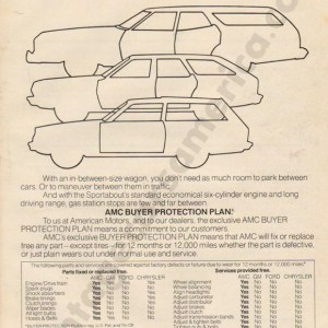 1976 American Motors Advertisement #3