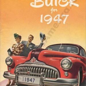 1947 Buick Foldout