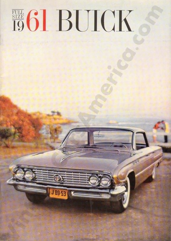 1961 Buick Brochure