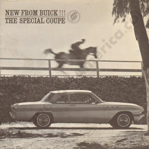 1961 Buick Special Coupe Brochure