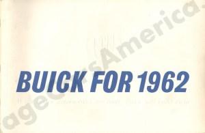 1962 Buick Brochure