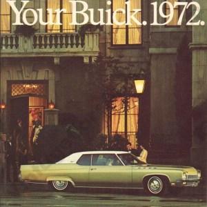 1972 Buick Brochure
