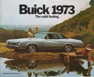1973 Buick Brochure