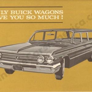 1962 Buick Wagons Brochure