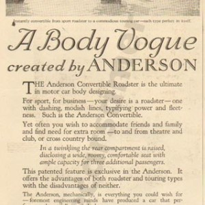 1920 Anderson Advertisement #4