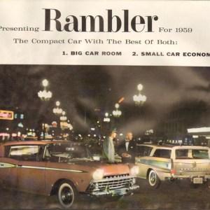 1959 Rambler 2 Brochure