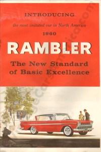 1960 Rambler Brochure