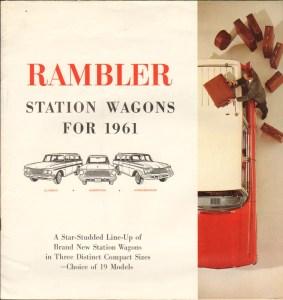 1961 Rambler Wagons Brochure