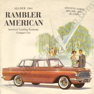 1961 Rambler American Brochure