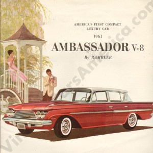 1961 Ambassador Brochure