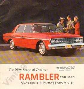 1963 Rambler Brochure