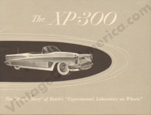 1952 Buick XP-300 Brochure