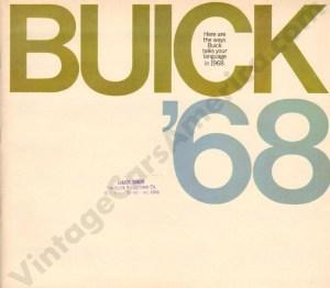 1968 Buick Brochure